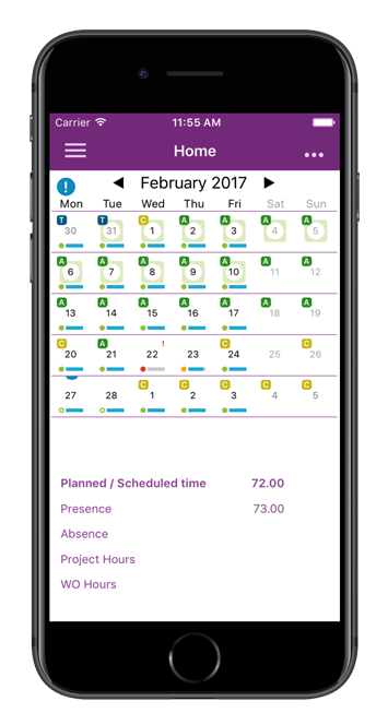IFS Time Tracker for Apps 9